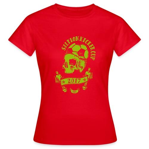 Logo Silpion Kicker Cup 2017 - Frauen T-Shirt