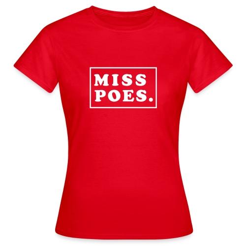 DOTZ misspoes - Vrouwen T-shirt