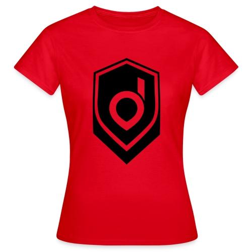 Logo Schwarz Inverted - Frauen T-Shirt