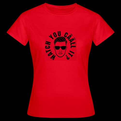 WYCI RED - T-shirt dam