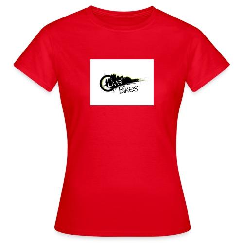 fahr oder stirb logo - Frauen T-Shirt