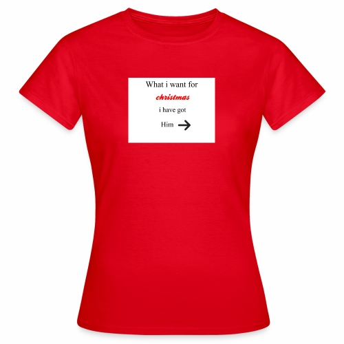 christmas - Women's T-Shirt