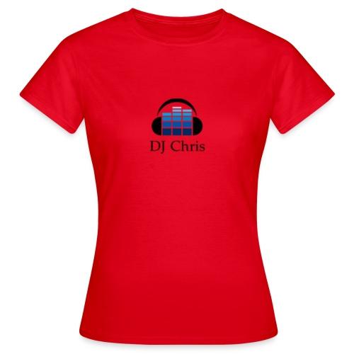 DJ Chris Modern Logo - Vrouwen T-shirt