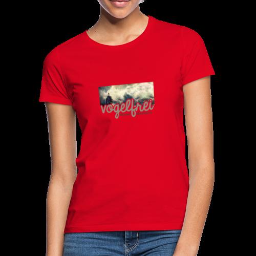 geweihbär Vogelfrei 3 - Frauen T-Shirt