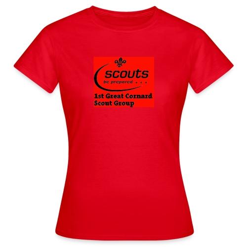 1st Great Cornard Scout Group - Women's T-Shirt