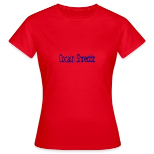 Cocain Shreddz blue - Frauen T-Shirt