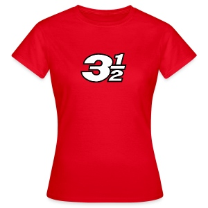 Three and a Half Logo - Women's T-Shirt