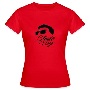 Stevie Vlogs Logo - Women's T-Shirt