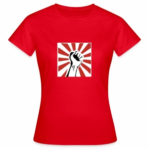 Revolution Fist - Vrouwen T-shirt