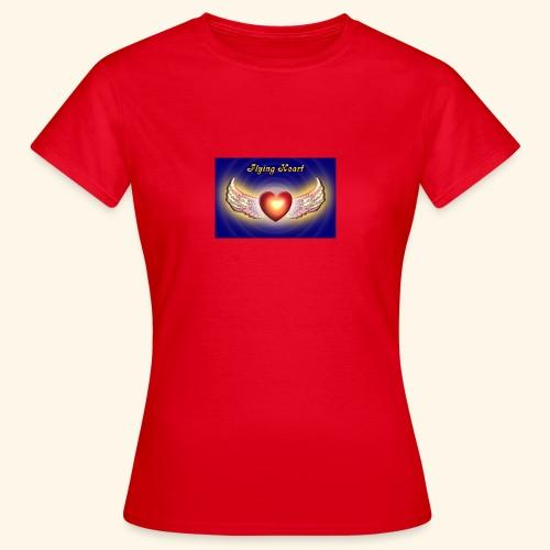 Flying Heart - Frauen T-Shirt