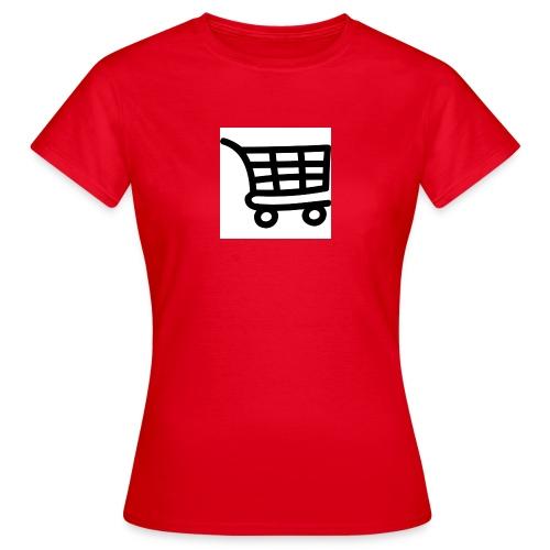 Einkaufswagen - Frauen T-Shirt