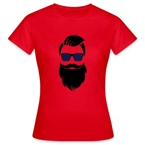 Hipster-Bart - Frauen T-Shirt