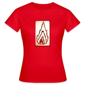 Igniting Flames - Dame-T-shirt