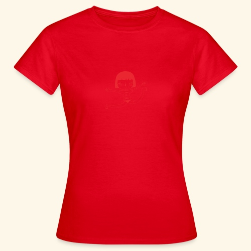 logo happy - T-shirt Femme