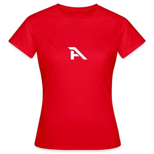 Aura Logo-(P. & White) - Maglietta da donna