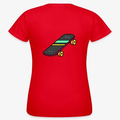 skate - T-shirt Femme