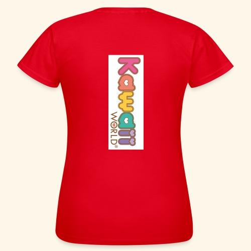 kawaii world - Camiseta mujer
