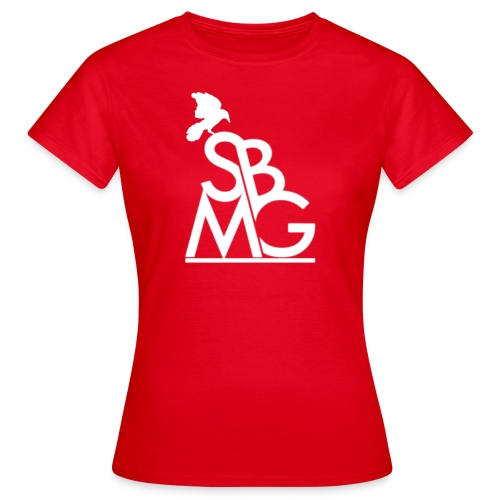 121212SBMGLOGO wit png - Vrouwen T-shirt