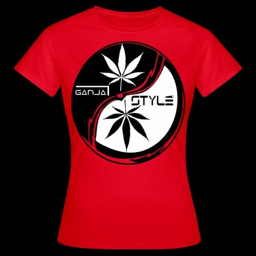 yin yang 2 - Frauen T-Shirt