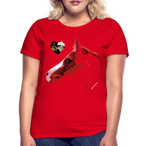 Spotted.Horse Appaloosa Colt Red - Maglietta da donna