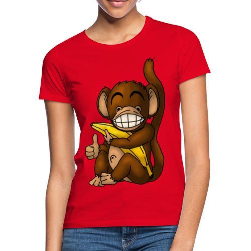 Super Fröhlicher Affe - Frauen T-Shirt