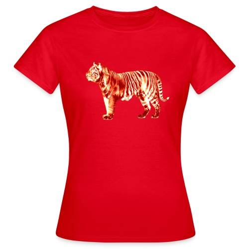 Red Tiger - Women's T-Shirt