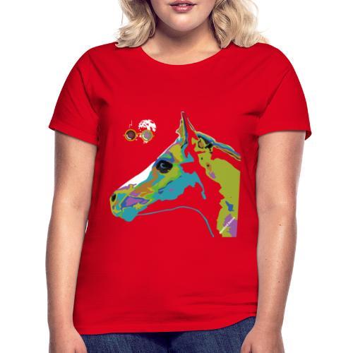 Spotted.Horse Appaloosa Colt Pop Art - Maglietta da donna