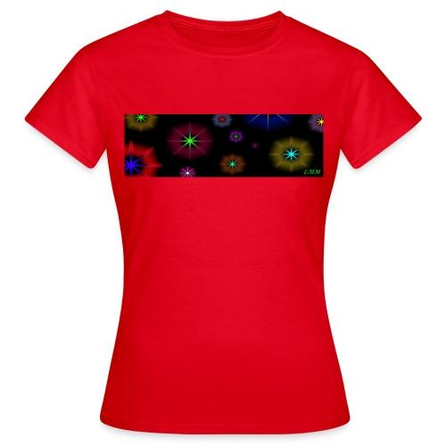 Étoiles Psychédélique jpg - T-shirt Femme