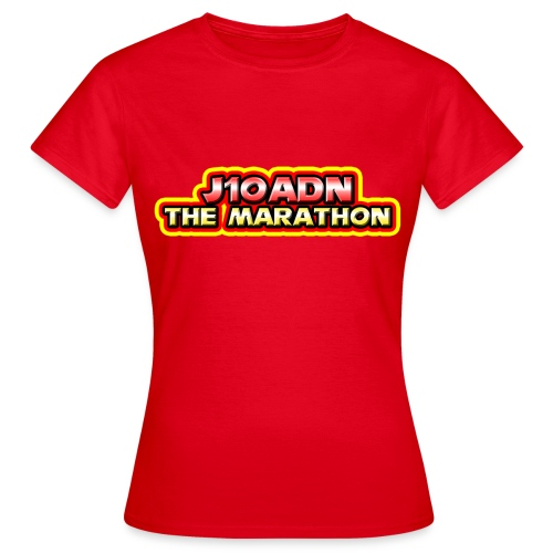 Marathon T shirt 2 png - Women's T-Shirt