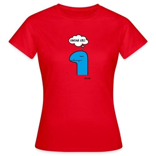 Fred Earl Dinosaur Girls - Frauen T-Shirt