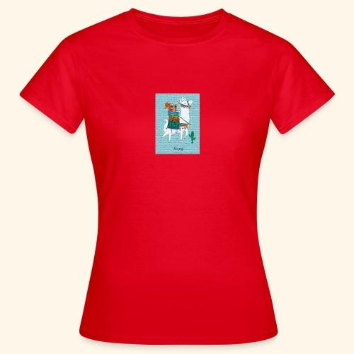 Lama Gang - Frauen T-Shirt