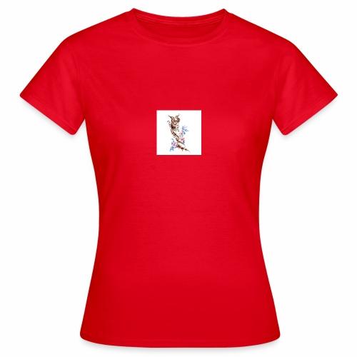T-shirt con fenice - Maglietta da donna