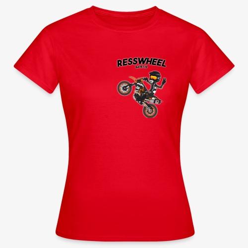 RessWheelShop - T-shirt Femme