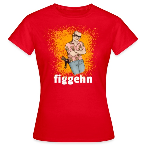 figgehn tryck - lite smuts - T-shirt dam