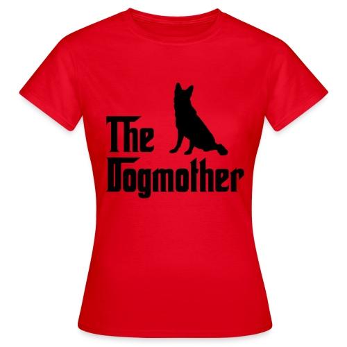 Dogmother Schäerhund schwarz - Frauen T-Shirt