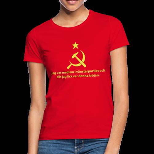 Vänsterpartiet Kommunisterna - T-shirt dam