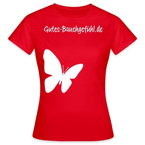 schmetterling lila gross - Frauen T-Shirt