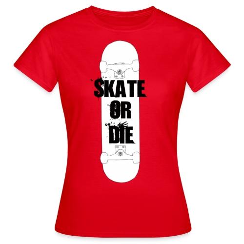 skateordie tshirt - Koszulka damska