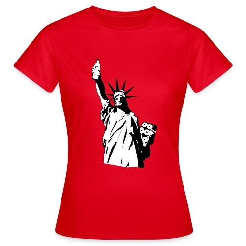 Statue of Pandemy - T-shirt dam