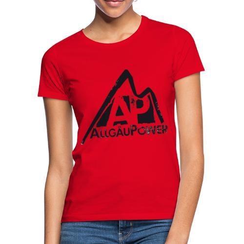 ALLGAEUPOWER LOGO 3 - Frauen T-Shirt