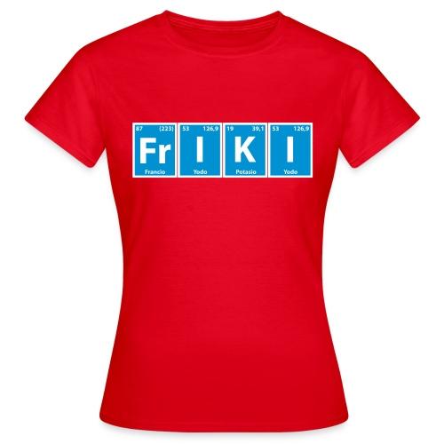 friki4 - Camiseta mujer