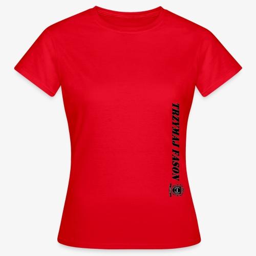 logo napis2 - Koszulka damska