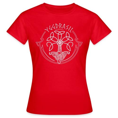yggdrasil2 white png - Women's T-Shirt