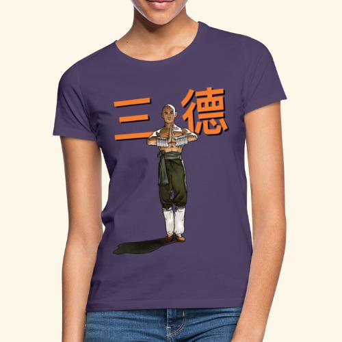 Gordon Liu - San Te - Monk (Official) 6 prikker - Dame-T-shirt