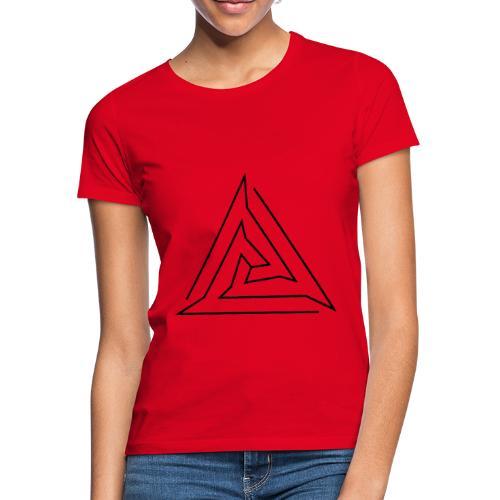 T-Shirt Eaven Geometric - Triangle 2 Clair Femme - T-shirt Femme