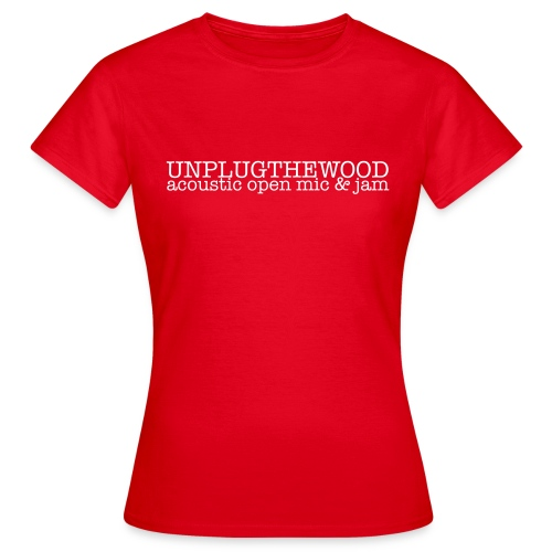 Unplug The Wood letterbox - Women's T-Shirt