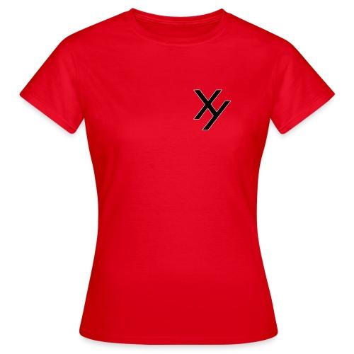 Xy logo black white - Frauen T-Shirt