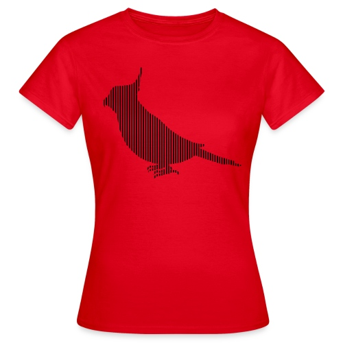 LINE BIRD 037b - Vrouwen T-shirt
