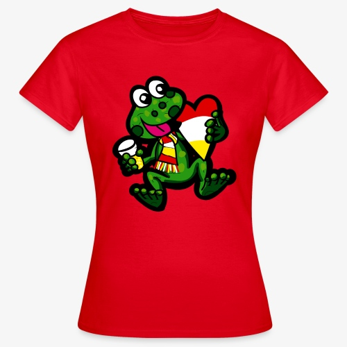 Oeteldonk Kikker - Vrouwen T-shirt