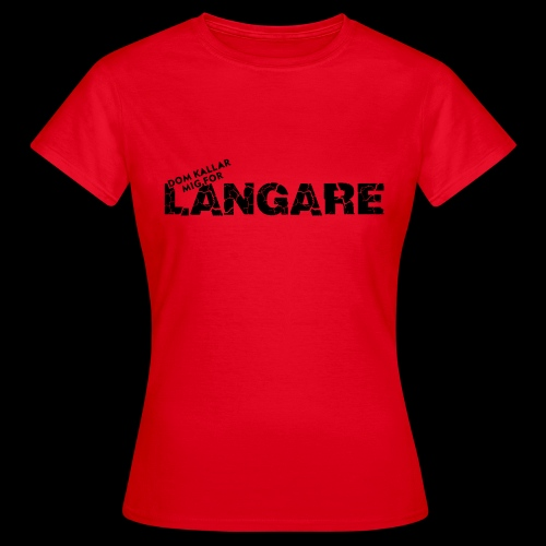 LANGARE - T-shirt dam